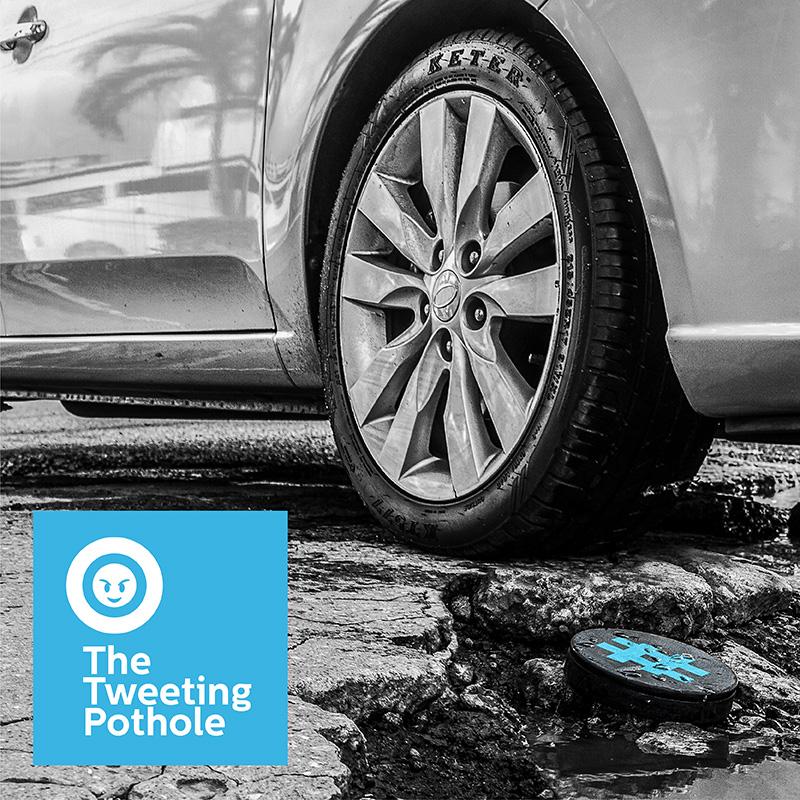 The Tweeting Pothole - Starholding